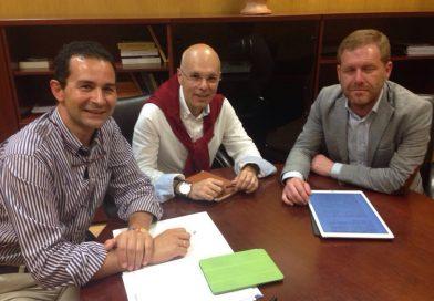 Asfanuca se reúne con Conrado Rodríguez Ruiz, concejal de Presidencia del ayuntamiento de San Fernando