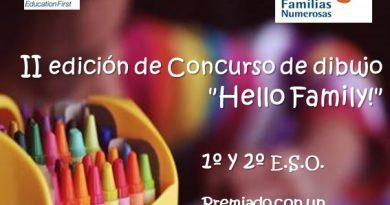 II Edición del Concurso de dibujo 'Hello Family!'