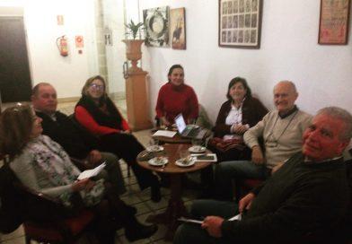 Reunión con los técnicos de Diputación de Cádiz para organizar la VII Jornada de la familia