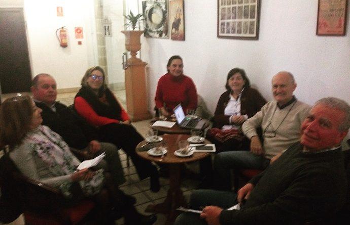 Primera reunión VII jornada de la familia con los técnicos de diputación