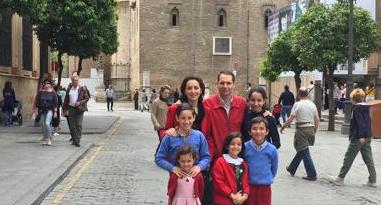 Familias numerosas de Sevilla