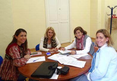 Asfanuca expone la situación de las familias numerosas de Cádiz en una entrevista con el Partido Popular.
