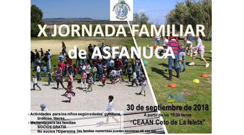 X JORNADA FAMILIAR de ASFANUCA