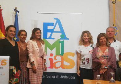 Presentación de las web Familias de Andalucía, en la provincia de Cádiz