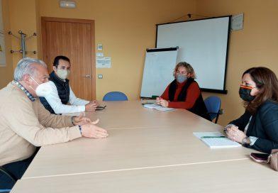 Asfanuca se reune con Angela Mula, diputada andaluza de Vox por Cádiz